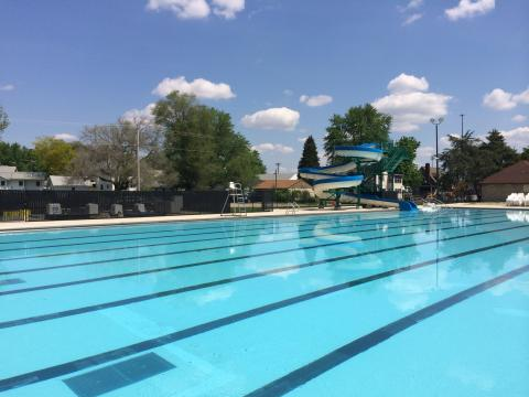 Tuhey Pool Opening Day